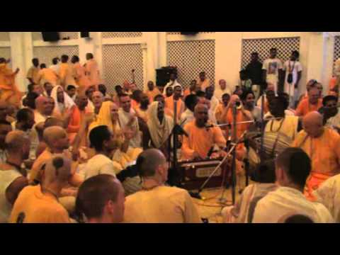 Lokanath Swami and Aindra Prabhu - Hare Krishna Kirtan - ISKCON Mayapur 2006 Music Videos