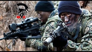 """South Korean Special Forces (ROK)// """"Silver Crimson Black""""// """"Make Impossible, Possible"""""""