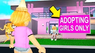 This MOM Adopted Me And She Made Me Hate POOR PEOPLE! (Roblox Bloxburg)