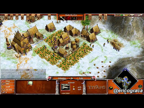 Age of Mythology - The Titans - Campanha AOM (Level 24) - Ep.21