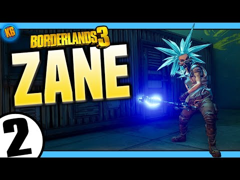 Borderlands 3 | Zane | Road to Mayhem Day #2 - Funny Moments & Legendary Loot