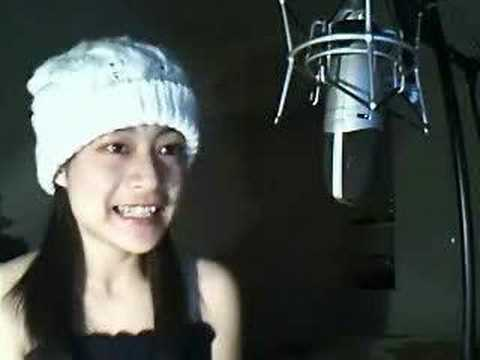 pretty chinese girl and nice voice