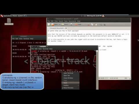 How to hack WPA/WPA2 (aircrack)