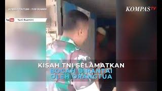 Viral Kisah TNI Selamatkan Bocah yang Dirantai Oleh Orangtuanya