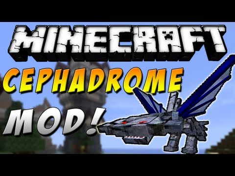 Minecraft 1.7.2 - Review de CEPHADROME MOD - ESPAÑOL TUTORIAL