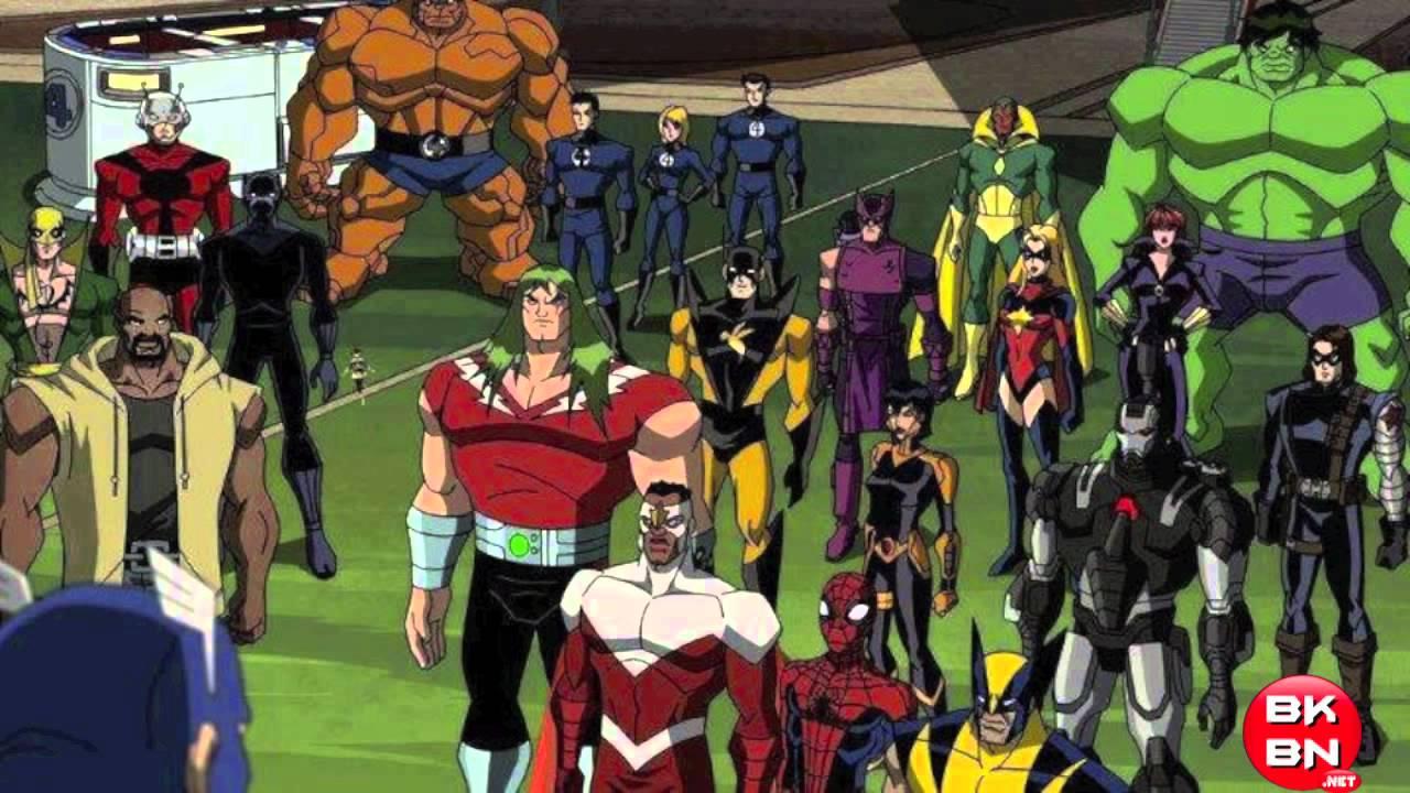 spider-man  wolverine  war machine  u0026 more in avengers earth u0026 39 s mightiest heroes season 2