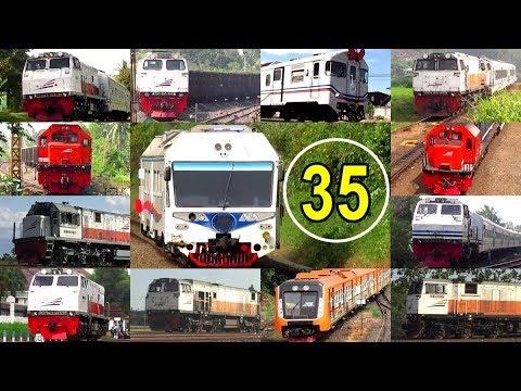 Macem-macem Semboyan 35 - Train Hornsound Compilation 3