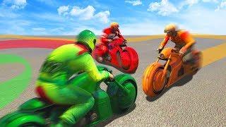 300MPH TRON TAKEDOWN CHALLENGE! (GTA 5 Funny Moments)