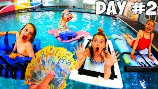 LAST TO SINK WINS $1000 | Kids version MR BEAST challenge w/ Norris Nuts