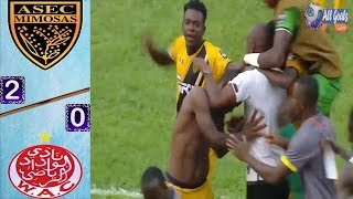 ASEC Mimosas Vs Wydad 2-0 All Goals amp Highlights 09/03/2019