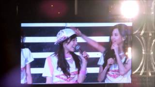 "130721 SNSD 少女時代演唱會""Girls & Peace"" [Tiffany birthday event + ending]"