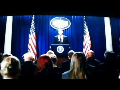 Olympus Has Fallen Ending Speech video