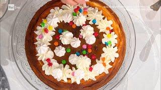Cheesecake al forno - E' sempre Mezzogiorno 06/01/2021