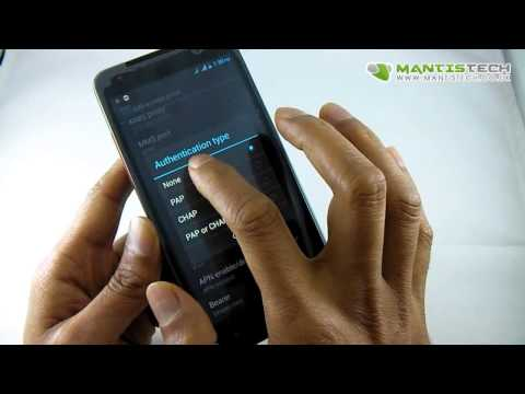 Android Dual Sim Vodafone APN Settings 3G Data Setup