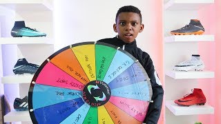Spin The Wheel Football Challenge | Kailem