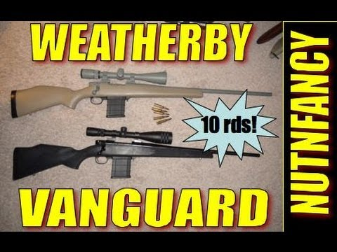 Weatherby Vanguard: Light Tactical Bolt Gun...10 rds too