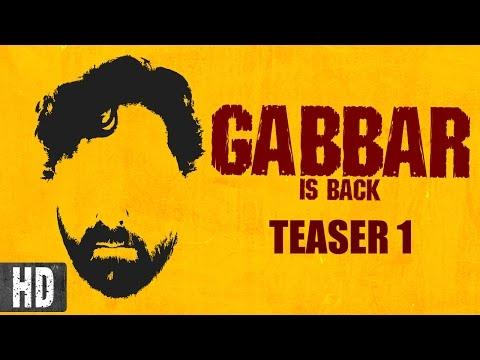 Gabbar is Back | Starring Akshay Kumar, Shruti Haasan | Teaser 1