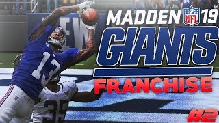 Big Trades + Craziest Ending EVER! Madden 19 New York Giants Franchise Ep. 2