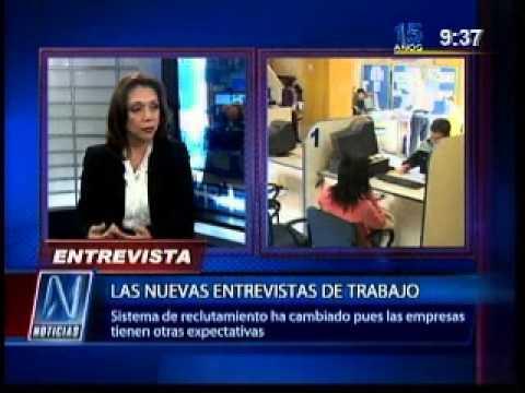 Las nuevas entrevistas de trabajo - Entrevista a Aída Marín en N Noticias