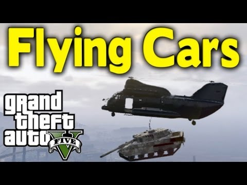 GTA 5 – FLYING CARS | 2 Awesome Ways To Transport Vehicles (How To / Tutorial) [GTA V]
