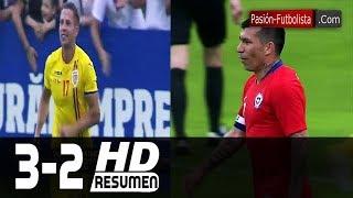 Rumania vs Chile 3-2 RESUMEN GOLES Amistoso Internacional Friendly-Match 2018