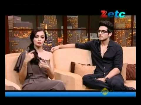 Komal Nahta with Diya Mirza & Zayed Khan