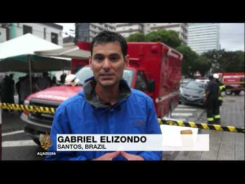 Brazil presidential hopeful dies in air crash