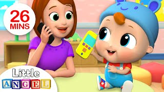 Baby's First Words - Mom or Dad? | Nursery Rhymes by Little Angel