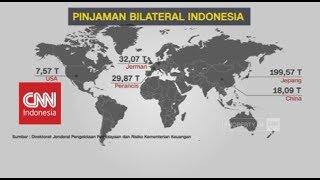Utang Luar Negeri Indonesia Terus Naik, Darimana Saja?