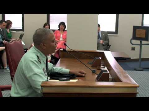 Eagle Military Academy Commandant Addresses Senate Subcommittee - 04/24/2009