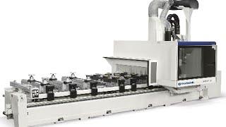 Morbidelli Author M serie CNC bovenfrezen