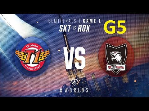 ROX vs SKT Game 5 Highlights - 2016 Worlds Knockout Stage Semifinals