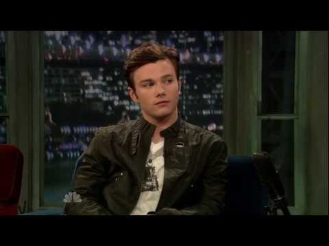 Chris Colfer on Jimmy Fallon