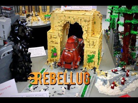 BEST LEGO MOCS at Bricking Bavaria 2017! EPIC. INSPIRATIONAL LEGO MOCS. Star Wars. LOTR..