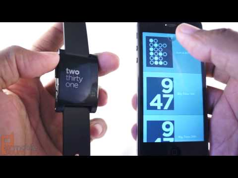 Pebble Review - smart watch for Android and iPhone