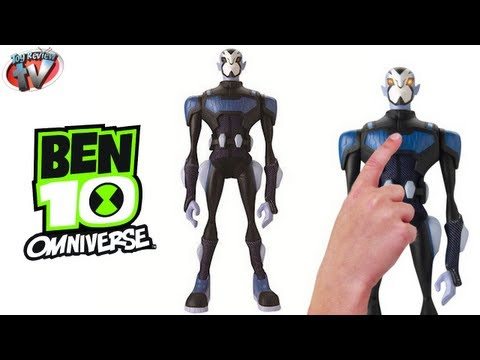 Ben 10 Omniverse Tactilien Rook 25cm Action Figure Toy Review. Bandai