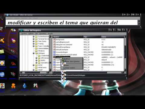 Como Ponr Un Mensaje Al Iniciar Windows Xp.mp4 video