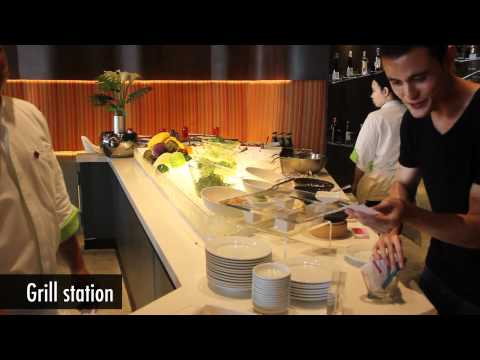 Crave International Lunch Buffet at Aloft Hotel Bangkok