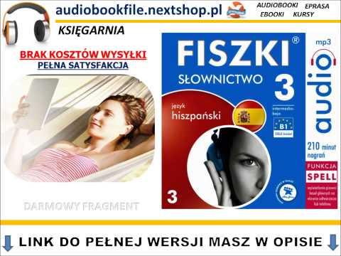 SZYBKA NAUKA HISZPAŃSKIEGO - FISZKI Audio - Słownictwo 3 - AudioBook, Szybka Nauka Słówek, MP3