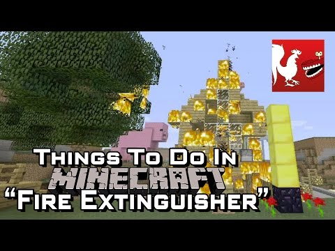Things to do in: Minecraft - Fire Extinguisher