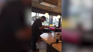Man falls from Waffle House ceiling