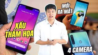 S News t2/T10: Hài lòng với Bphone 3, Pixel 3 XL xấu thảm họa, Galaxy A9 4 camera