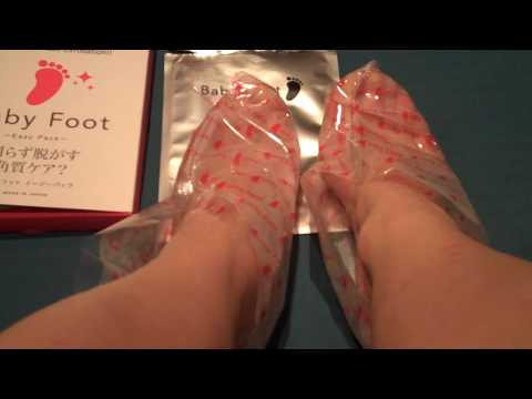 baby foot - the foot softening experiment - part 2