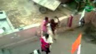 Typicaly Family Fight in village- Mother Slaps his daughter