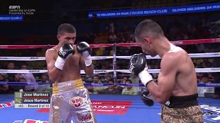GBPonESPN: Jose Martinez vs Jesus Martinez