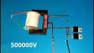 High voltage converter 500000V , Boost converter using dual mosfet