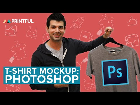 How to make a T-shirt mockup in: Photoshop