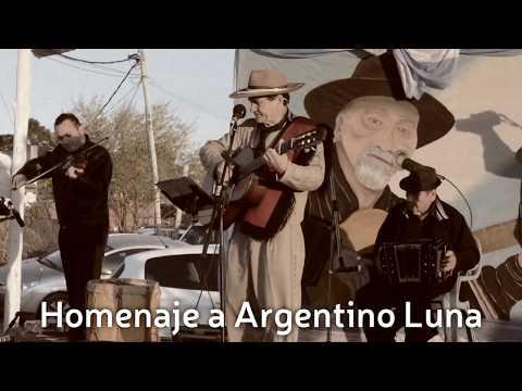 Homenaje a Argentino Luna