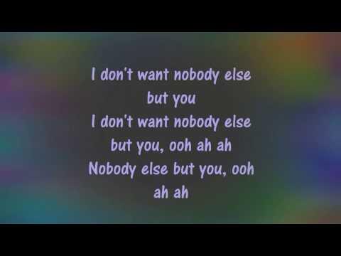 Nobody else but you lyric ~trey songz