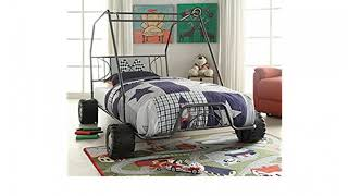 MUST SEE Furniture Review! Donco Kids 4004-R Youth Race Car Bed, Red